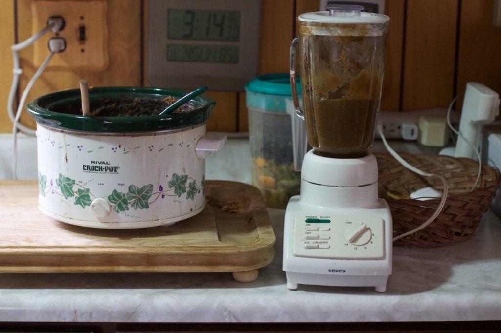 Blender for soft food diet